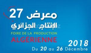 FOIRE DE LA PRODUCTION ALGÉRIENNE 2018 FPA27