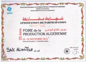 FOIRE DE LA PRODUCTION ALGÉRIENNE 2013 FPA22