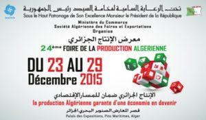 FOIRE DE LA PRODUCTION ALGÉRIENNE 2015 FPA24